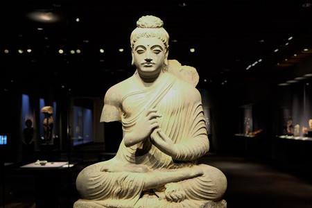 2014.01.08 東京国立博物館 如来坐像 パキスタン・ガンダーラ