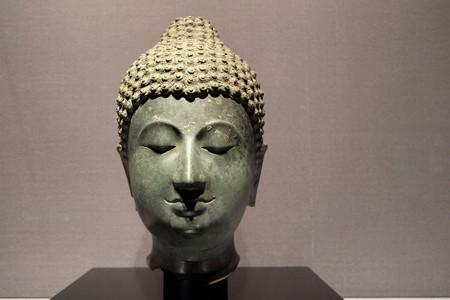 2014.01.08 東京国立博物館 如来頭部 タイ