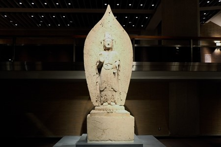2014.01.08 東京国立博物館 菩薩立像 中国