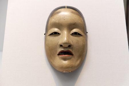 2014.01.08 東京国立博物館 能面 曲見 「天下一是閑」焼印