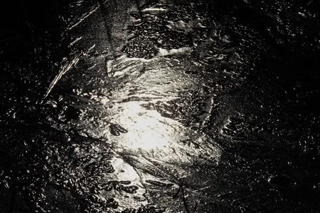 2014.01.20 和泉川 流れ凍て付く