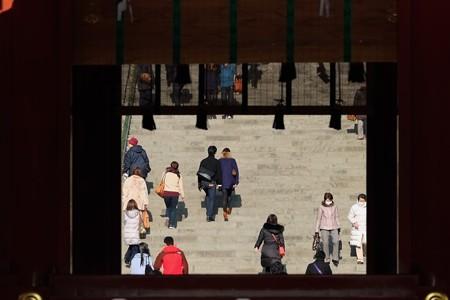 2014.01.22 鎌倉 鶴岡八幡宮 お参り