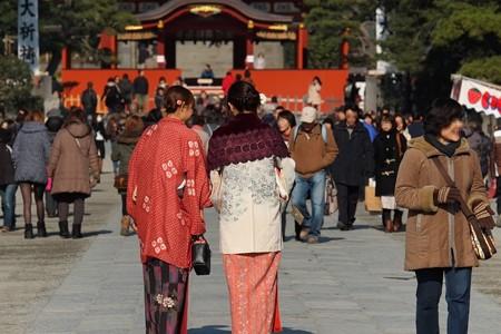 2014.01.22 鎌倉 鶴岡八幡宮 初詣