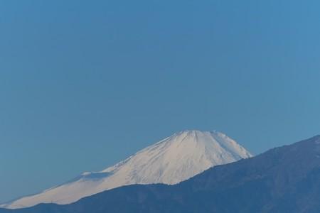 2014.01.27 駅前 富士山