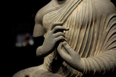 2014.02.07 東京国立博物館 如来坐像 パキスタン・ガンダーラ