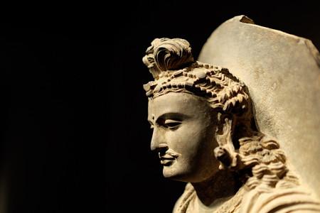 2014.02.07 東京国立博物館 菩薩立像 パキスタン・ガンダーラ