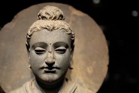 2014.02.07 東京国立博物館 如来立像 ガンダーラ