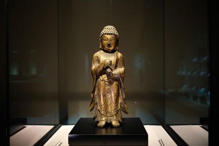 2014.02.07 東京国立博物館 毘盧舎那仏立像 高麗時代 TC-668