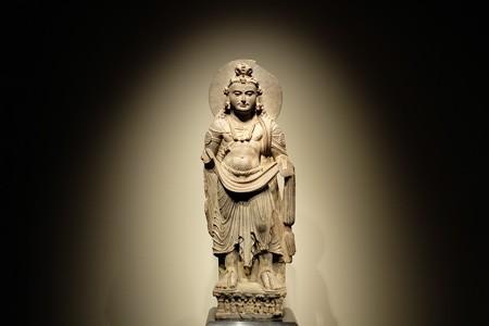 2014.02.07 東京国立博物館 菩薩立像 全身 パキスタン・ガンダーラ