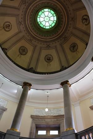 2014.02.07 東京国立博物館 表慶館 ドームと柱