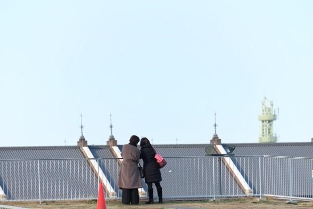 写真: 2014.02.21 みなとみらい 象の鼻パークから赤レンガ倉庫