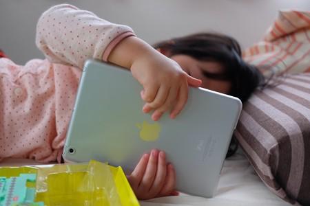 2014.03.07 家 姫 寝起iPad