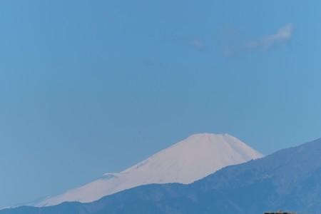 2014.03.31 駅前 富士山