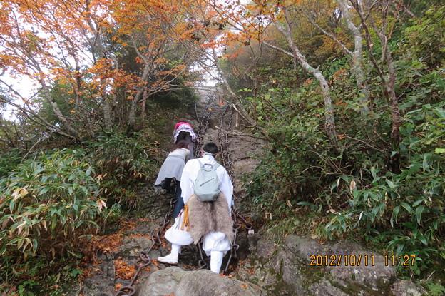 Photos: 20121011 石鎚山 がんばれ~