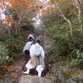 20121011 石鎚山 がんばれ~