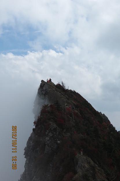 Photos: 20121011 石鎚山 天狗岳