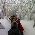 2013/1/27 八ヶ岳登山 あいふぉーんで撮影を試みる