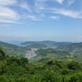 Photos: 山上から下津港を眺める