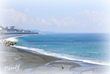 秋の海辺・・3