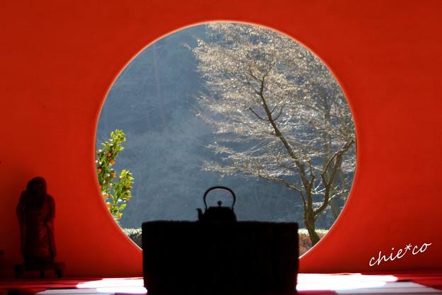 円窓・・明月院