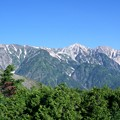 北アルプス白馬三山