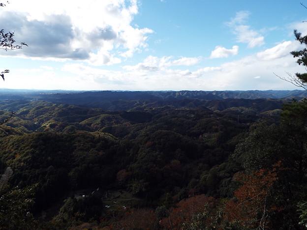 西金砂山からの眺望
