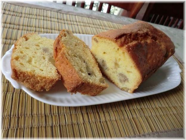 Photos: 栗のパウンドケーキ
