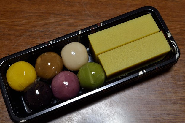 舟和<芋ようかん&あんこ玉>