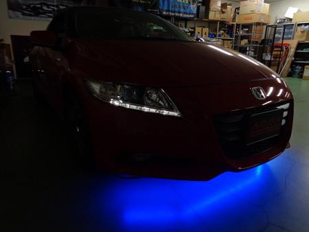 CR-Z 愛知県 アンダーネオン 青LED