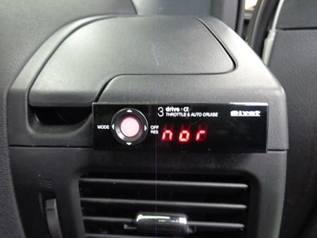 エクストレイル 愛知県 クルーズコントロール取付 ピボット3ドライブα
