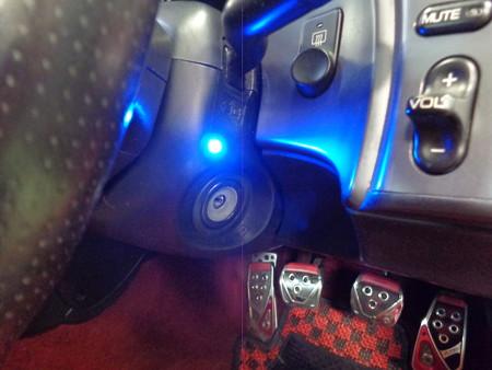 S2000 栃木県 薄型オートキーレスバージョン2取付 LED