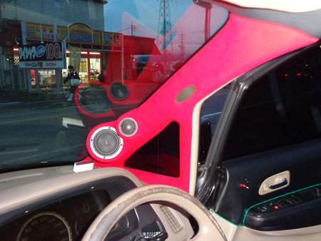 オデッセイRA6 赤 フロッキーコーティング 装着