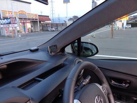 トヨタAQUA オリジナル色グレー 植毛塗装 フロッキーコーティング