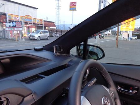 トヨタAQUA 黒 植毛塗装 フロッキーコーティング