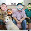 Photos: HAKUに本物の家族が出来ました