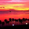 マニラ湾夕焼け小焼け