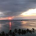 マニラ湾夕陽