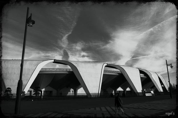 駒沢公園の雲 #5