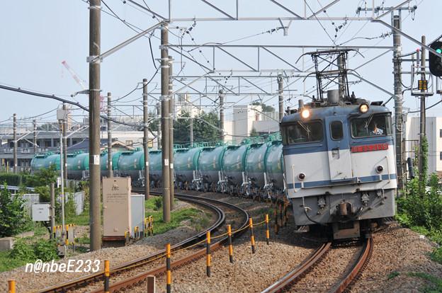 米タン 8277レ EF65 2139+タキ12B(JP-8)