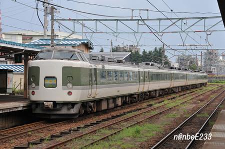 3321M 「妙高1号」 189系 ナノN103編成