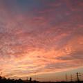10月6日の夕焼け