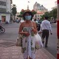 Photos: 街中ではマスク