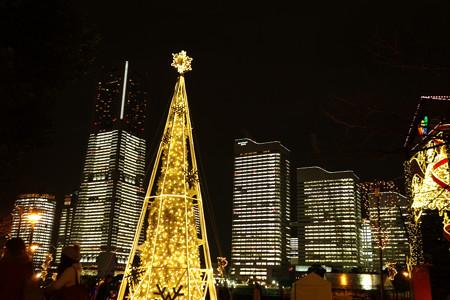光のタワー、とビルのタワーライト!2012