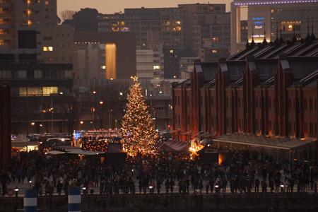 クリスマスツリー赤レンガ!2012