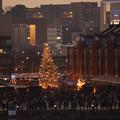 写真: クリスマスツリー赤レンガ!2012