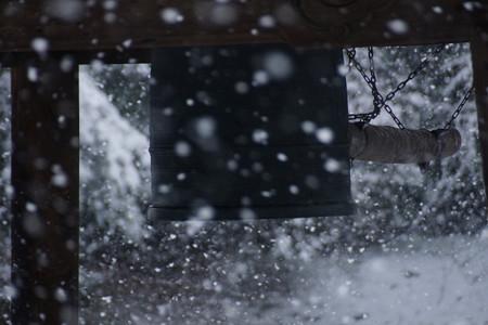 称名寺鐘楼の雪景色!2013