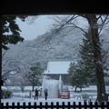 Photos: 仁王門からの雪景色!2013