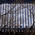 Photos: 残雪の屋根風景!201301
