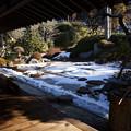 Photos: 雪景色の枯山水庭園!201301