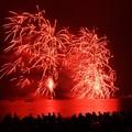 写真: 海岸の花火大会、逗子3!130601